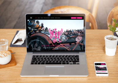 Web Design for Ainsley's Angels